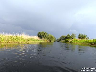 Canalul Dovnica - dupa furtuna