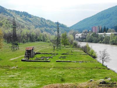 castrul roman de pe Valea Oltului