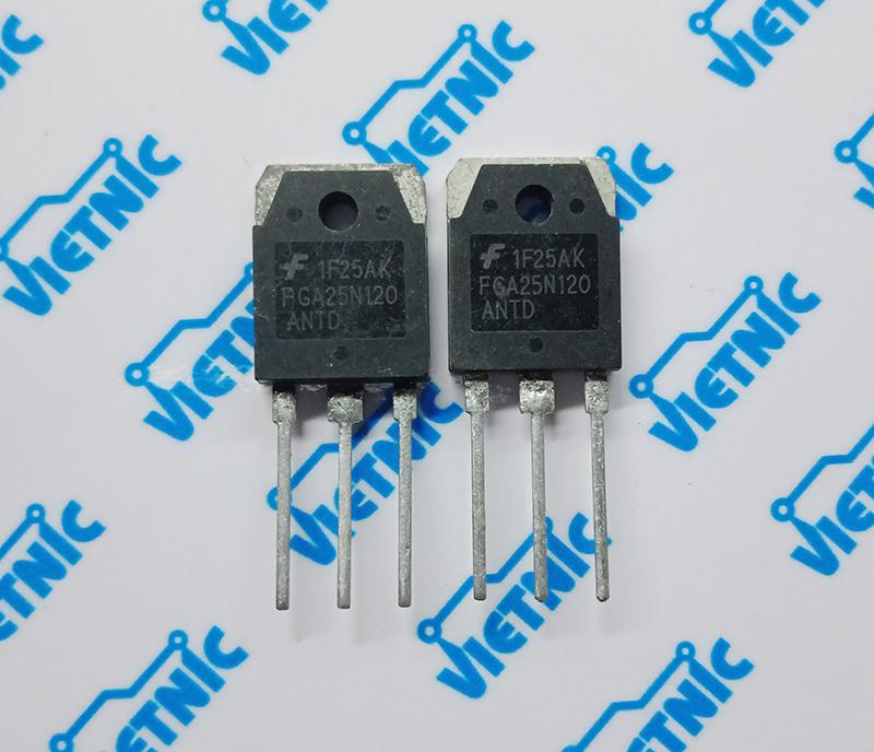 IGBT 25N120 - cửa hàng linh kiện điện tử Vietnic