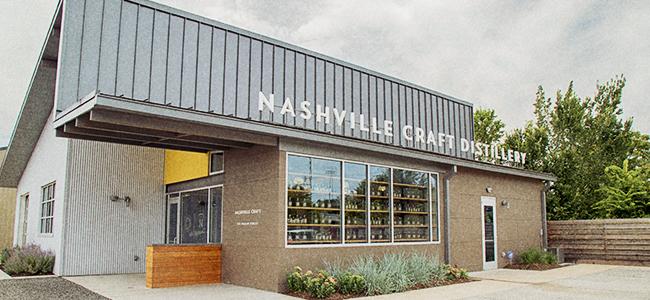 The Facade of Nashville Craft Distillery