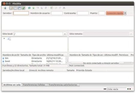 filezilla 332 Clientes FTP en Ubuntu: ¿cuál elijo?
