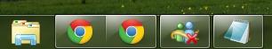 2011 04 18 10 40 21 Windows 7 Superbar: no combinar nunca y ocultar etiquetas