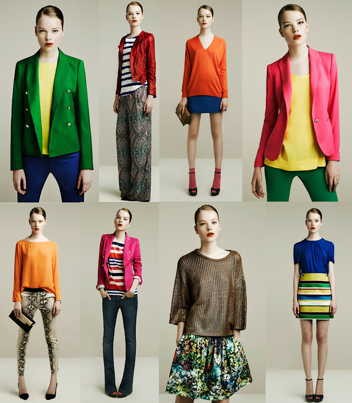 Zara April 2011 lookbook