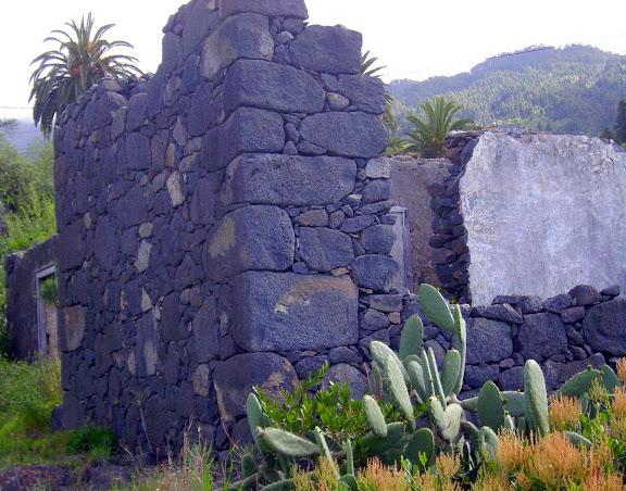 Verfallenes Haus,La Palma,Kanaren