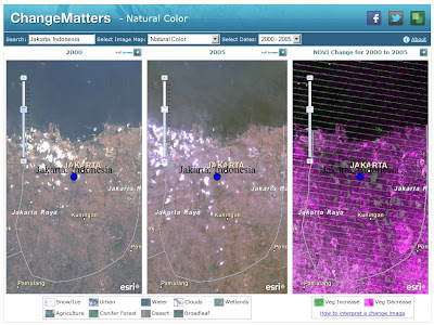 Esri Introduces Landsat Data for the World : Free Multitemporal, Multispectral Global Image Services