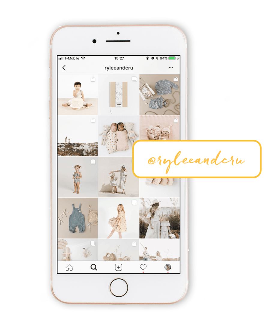 light and airy instagram theme