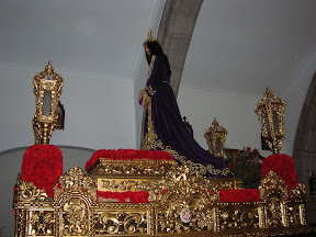 El Cristo de Medinaceli en el interior de la Parroquia de San Bartolomé de Pozoblanco. Foto: Pozoblanco News, las noticias y la actualidad de Pozoblanco (Córdoba)* www.pozoblanconews.blogspot.com