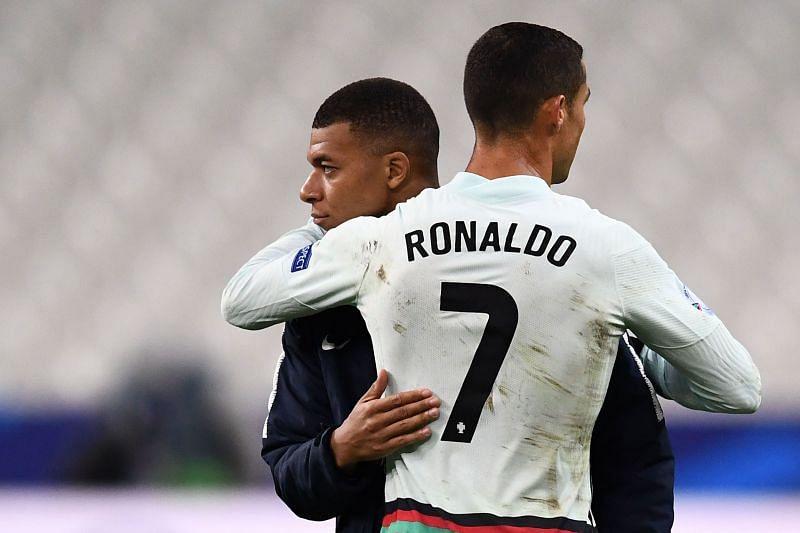 Cristiano Ronaldo is Kylian Mbappe's role model and idol