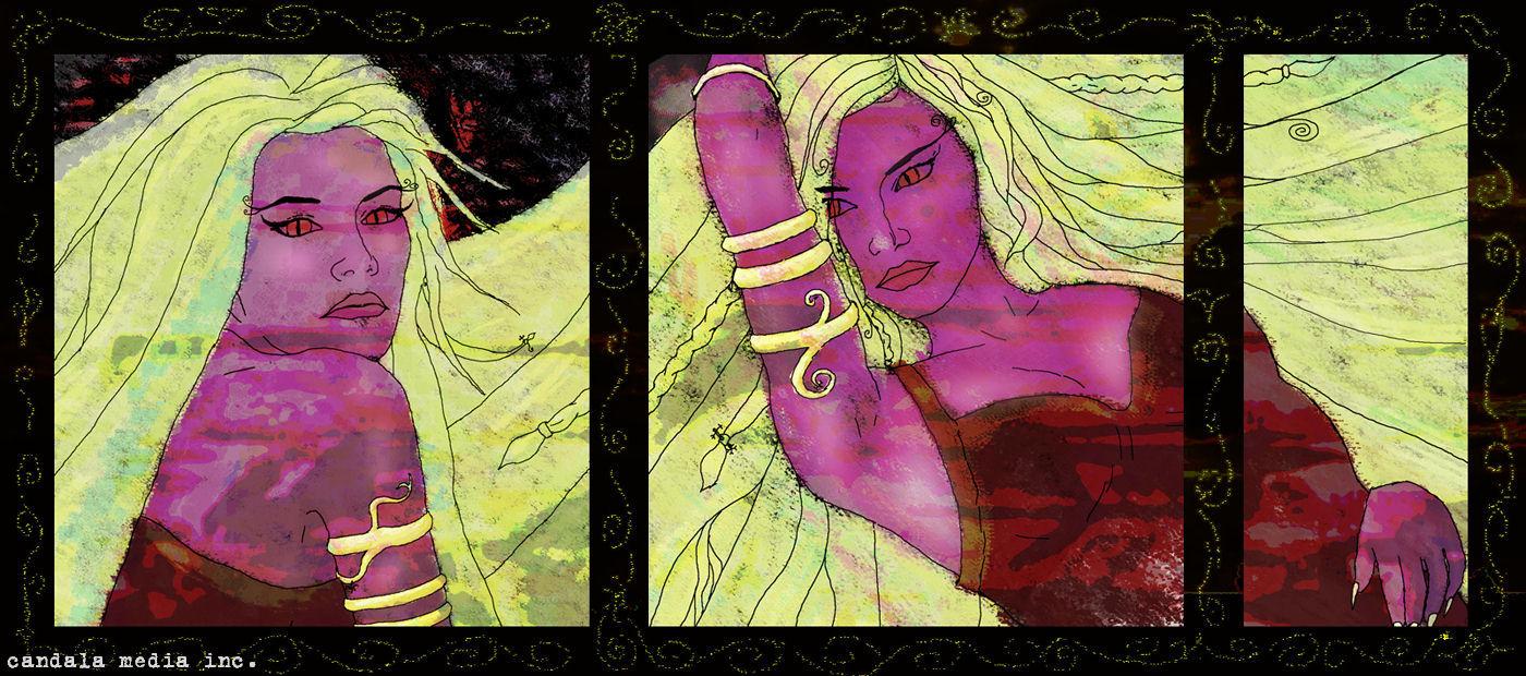 Две блондинки: триптих