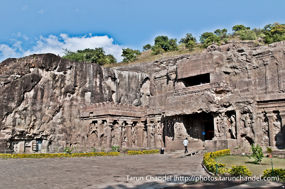 ellora caves entrance India, Tarun Chandel Photoblog