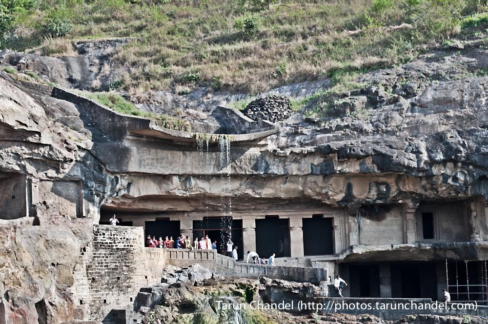 ellora caves waterfall, Tarun Chandel Photoblog