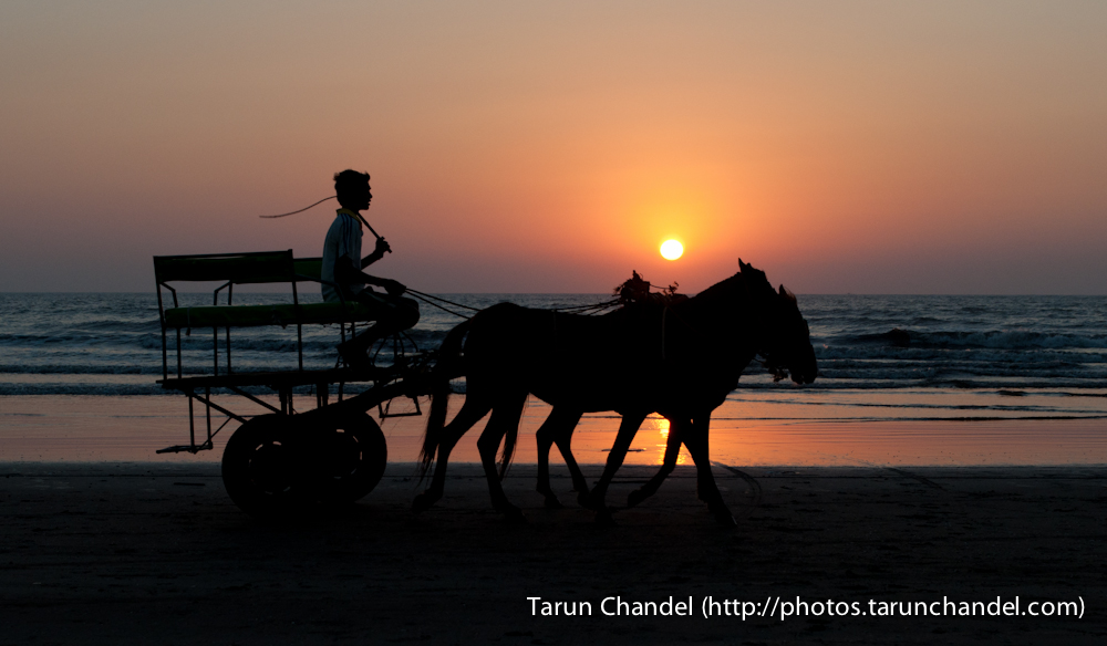 Sunset at Beach, Tarun Chandel Photoblog