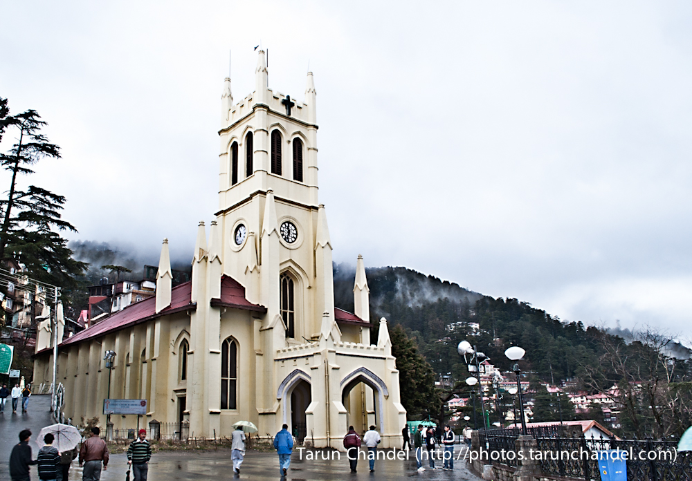 Church Mall road Shimla Himachal, Tarun Chandel Photoblog