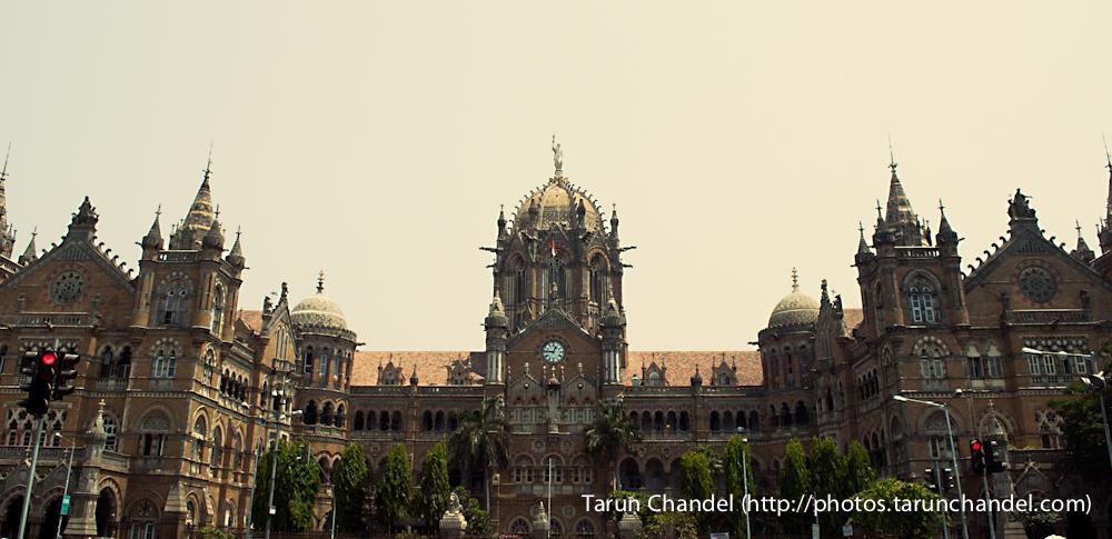 Victoria Terminus Chatrapati Shivaji Terminus CST VT Mumbai, Tarun Chandel Photoblog