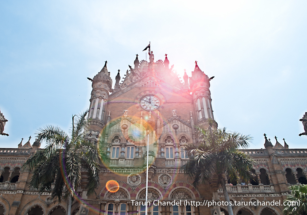 Victoria Terminus Chatrapati Shivaji Terminus CST VT Mumbai World Heritage Site, Tarun Chandel Photoblog