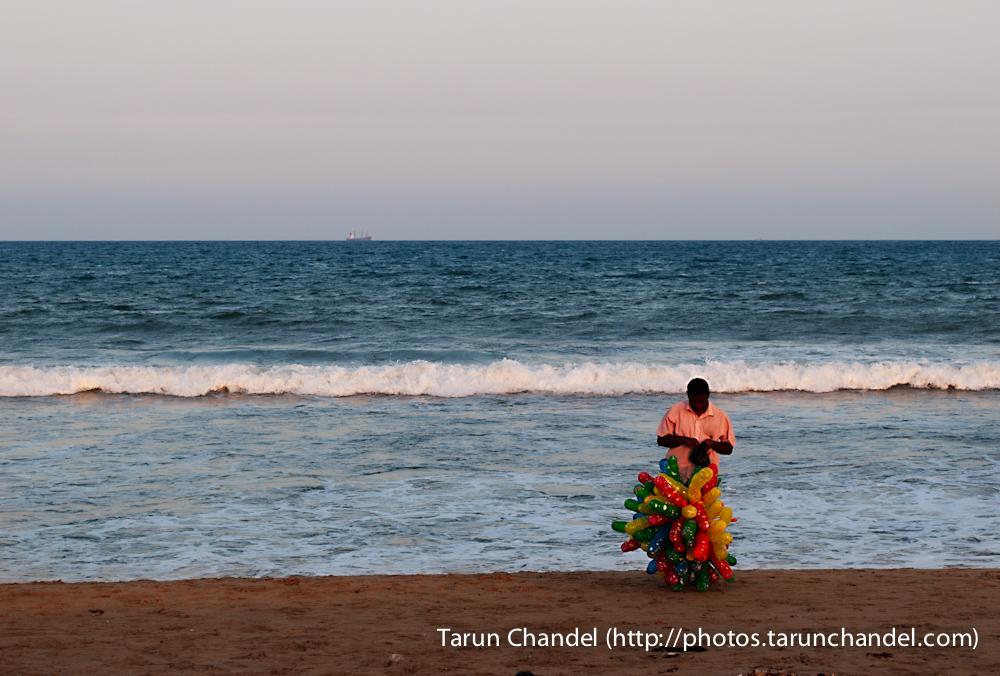 Marina Beach Chennai Balloons, Tarun Chandel Photoblog
