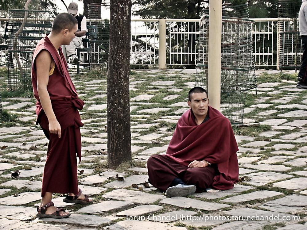 McLeodGanj Dharamshala monastery Lamas Monks Himachal, Tarun Chandel Photoblog