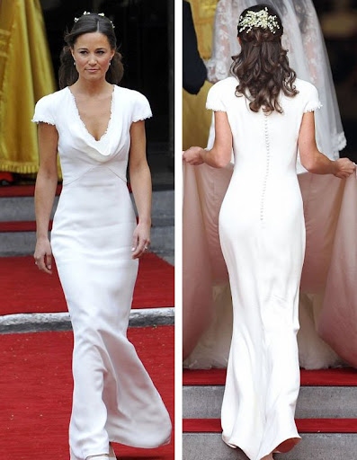 pippa middleton dress. of Pippa Middleton#39;s dress