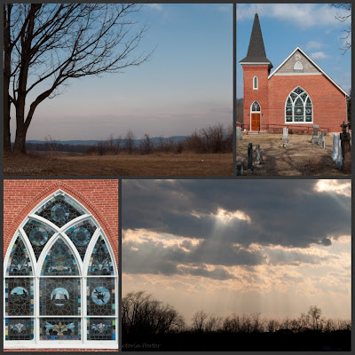 landscapes and church