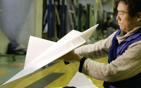 Worlds Longest Paper Plane Flight