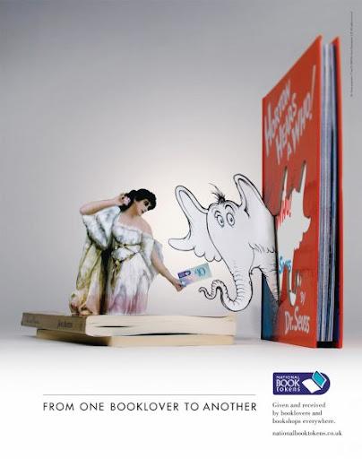 креативная реклама книг и чтения
