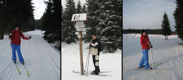 na nartach biegowych w jakuszycach