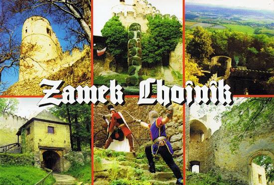 zamek Chojnik - pocztówka