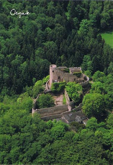 zamek Chojnik pocztówka