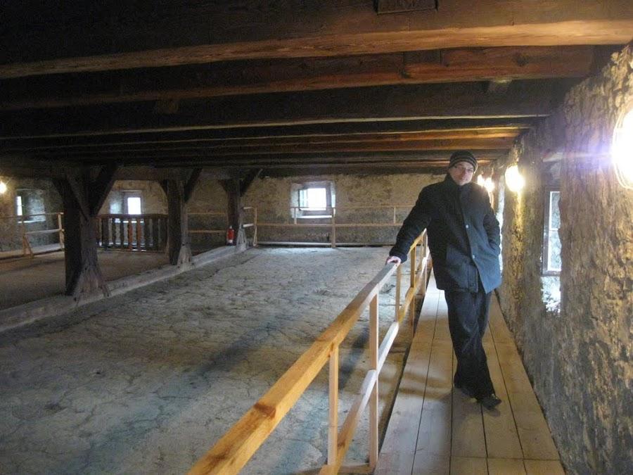 siedlęcin - wieża rycerska 4 piętro