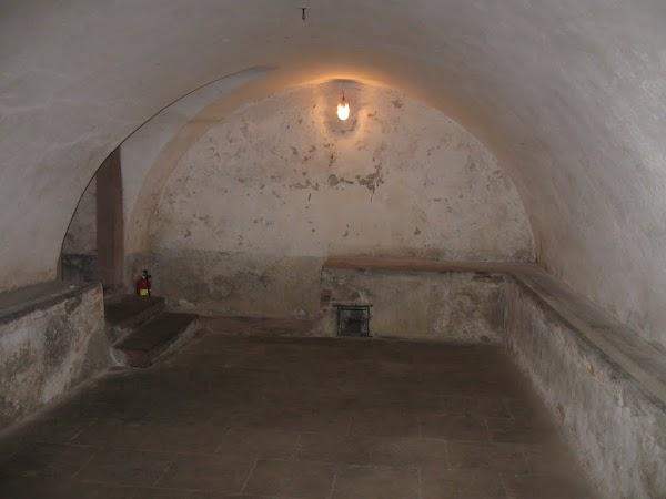 siedlęcin - wieża rycerska piwnica