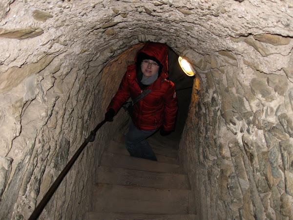 Zamek Bolków - wejście na wieżę zamkową
