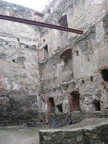 Zamek Bolków - pomieszczenia mieszkalne
