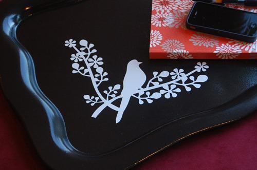 bird vinyl design