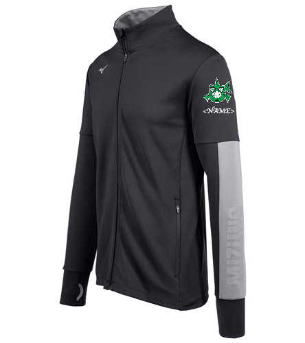 Team Warm-Up Jacket - Mizuno Youth Alpha Quest Jacket