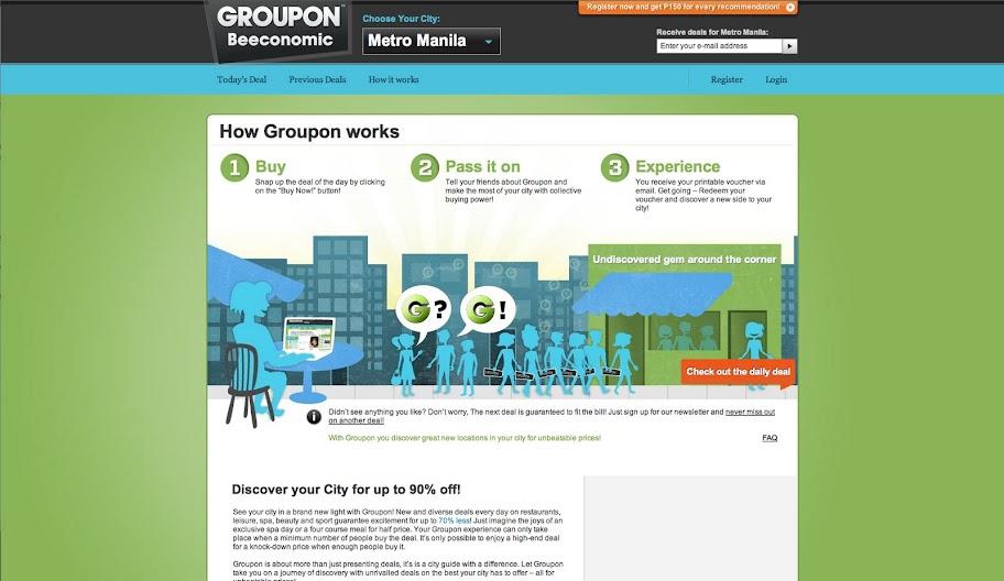 groupon online shopping deals
