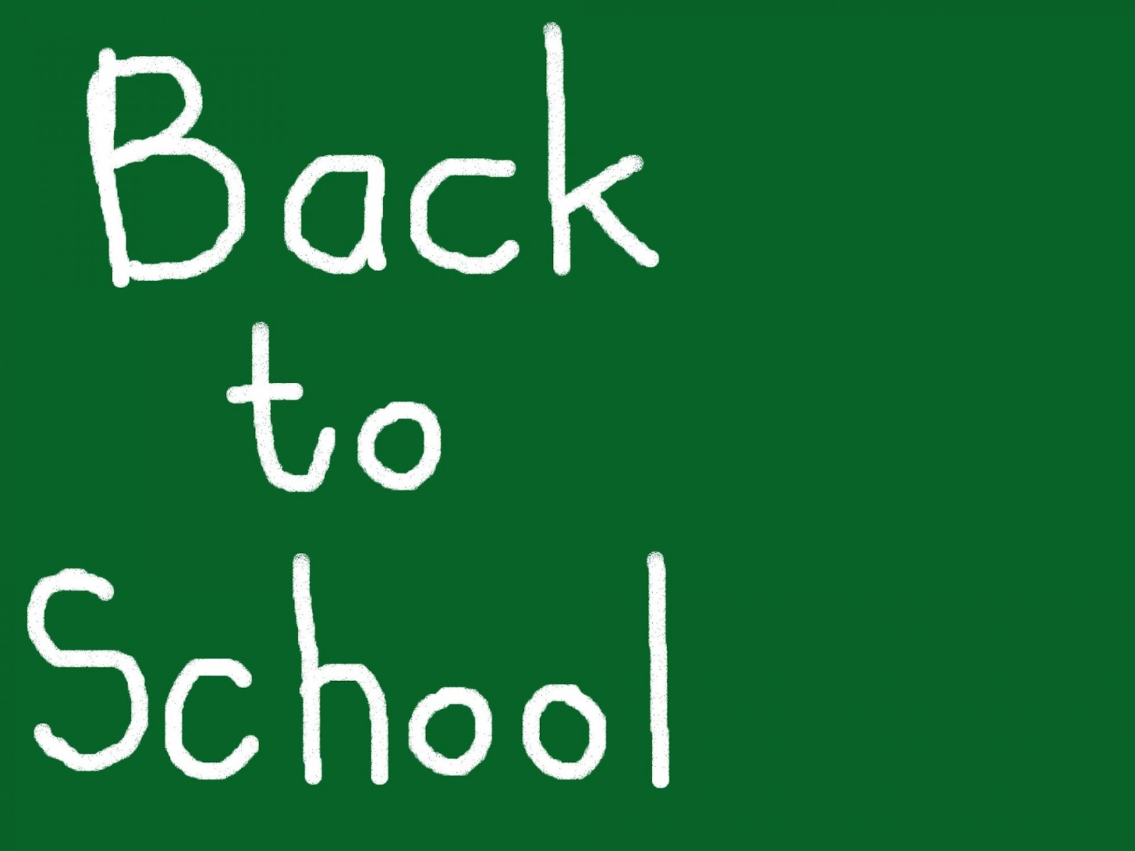 ... Back To School ...