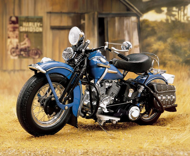 William B. Davidson HD Wallpapers Franklin Mint Harley Davidson Panhead Diecast Motorcycle