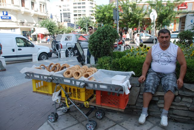 Thessaloniki bagel man