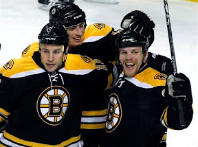 Bruins celebrate Shawn Thornton's goal