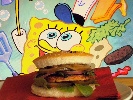 Bob Esponja Hamburguesa: Kangreburger ( Bob Esponja)