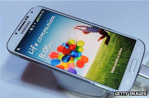 Samsung's handsets dominate sales of Android