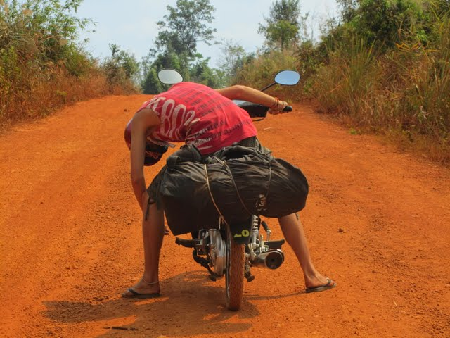 Bolaven Plateau by motorbike