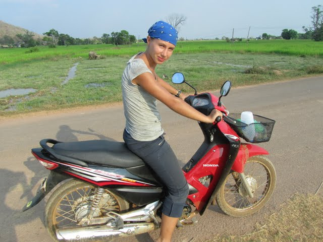 motorbike tour around Don Khong