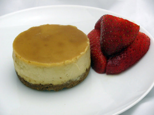 Eat, Knit, Grow: Upside-Down Honeyed Cheesecakes