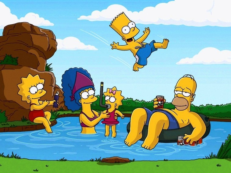 The Simpsons Cartoon Picture 4
