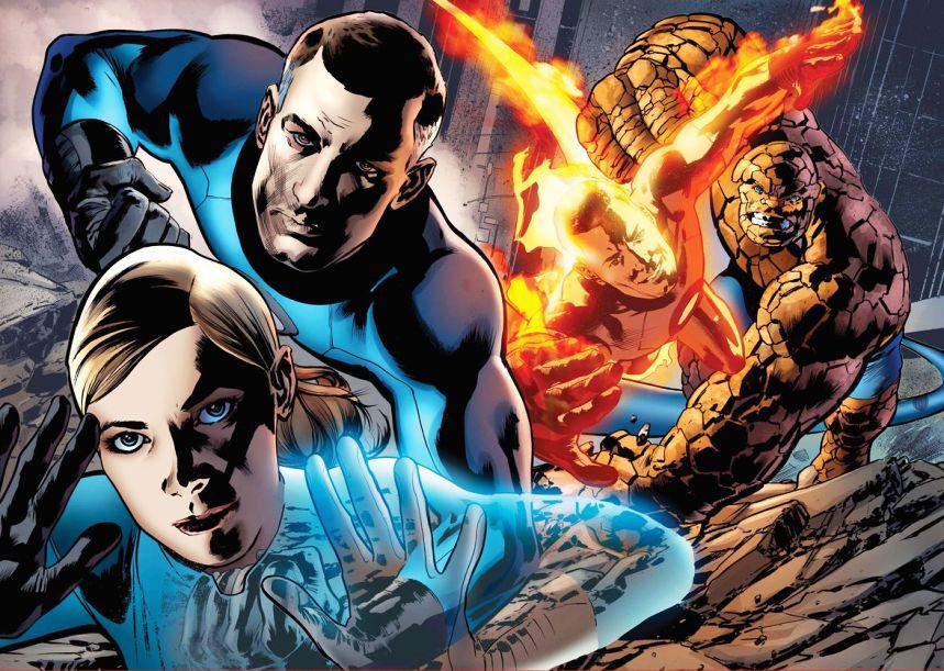 The Fantastic Four (Cartoon Picture 3)