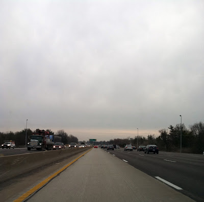 Morning rush hour traffic photo