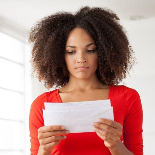 девушка с письмом