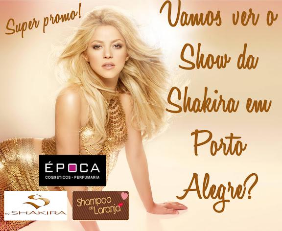 Quer ganhar um ingresso para o Show da Shakira?