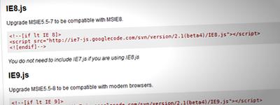 IE8/9.jsで、ある条件が揃うとスタイルが飛んでしまう現象について